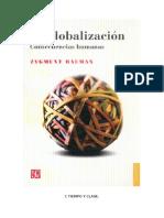 Bauman Globalizacion