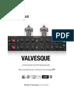 Valvesque Manual