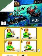 Bat Submarine instructions
