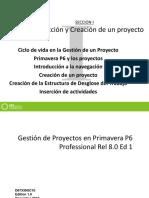 Capitulo 01 Gestion de Proyectos Con Primavera p6