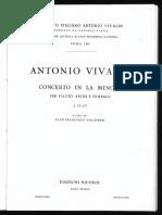 Vivaldi- Concerto RV 440 in La Minore