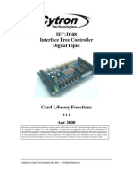 IFC-DI08 Card Library Functions 2