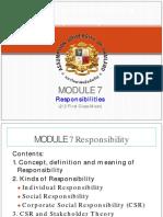 MODULE 7 ethics