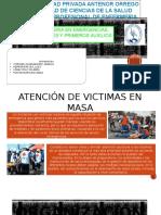 Atención de Victimas en Masa
