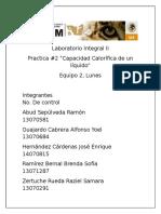 Laboratorio Integral II Practica 2