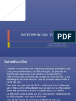 Intervención Familiar