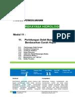 Modul XI Rek Hidrologi