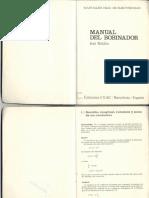 Manual Del Bobinador