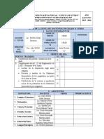 Acta de Junta de Docentes - Aprobacion Examenes Primer Quimestre