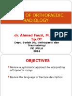 Basics of Orthopedic Radiology