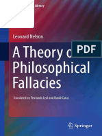 (Argumentation Library 26) Leonard Nelson (auth.)-A Theory of Philosophical Fallacies-Springer International Publishing (2016).pdf