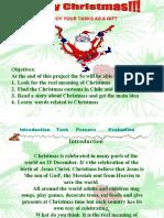 Example Webquest 1 Christmas