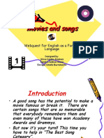 Example Webquest 2 Movies and Songs