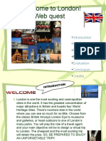 Example Webquest 3 Welcome to London Webquest