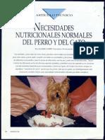 NUTRICION - Bases Nutricionales de Los Caninos y Felinos