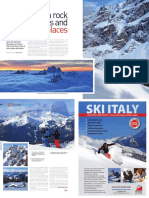 "Dolomites ski feature ""Between rock faces and beautiful places"", The SKI mag #23, 2017"