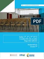 Ejemplos de Preguntas Saber 9 Matematicas 2012 v3
