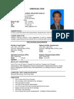myrul cv - Land Surveyor Resume