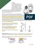 2 - Optics Notes