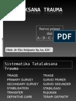 Tatalaksana Trauma