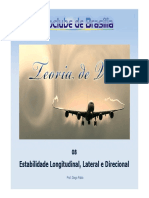 TVA08 - Estabilidade Longitudinal, Lateral e Direcional