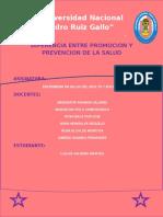 Diferencia Entre Promocion y Prevencion