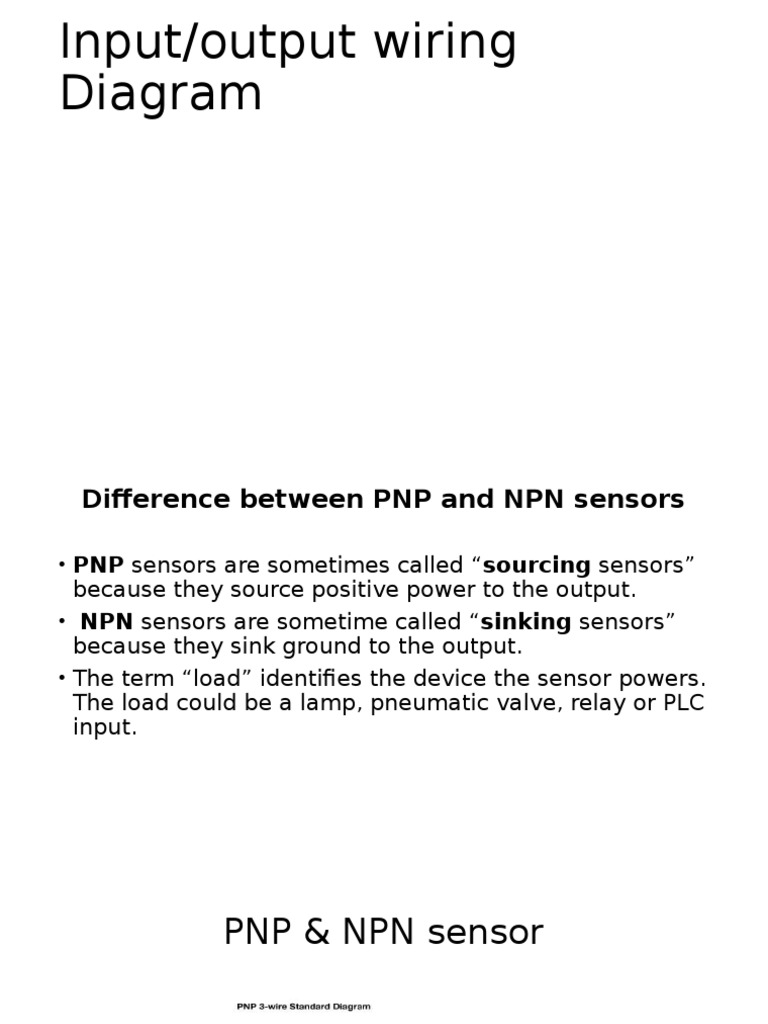 Npn Wiring Diagram Library Automation And Controls How To Test Whether A Sensor Has Pnp Or Plc I O