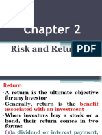 Chap 2 Risk and Return REVISED