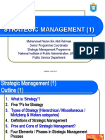 Overall View of Strategic Management-Mr.Muhammad Nazim Abd Rahman