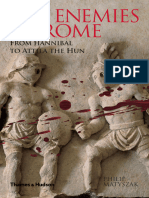 The Enemies of Rome, From Hannibal to Attila the Hun - Philip Matyszak