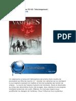La Terre Des Vampires T01