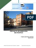 Proyecto Final Dirección Tomás Martínez Monge IES Pacifico 2017[1]