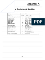 Unit Conversions and Constants by Beiser