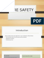 Osha - Fire Safety