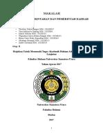 Konsep Pemerintahan Dan Pemerintah Daerah