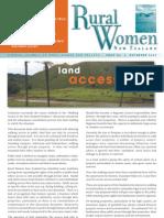 December 2003 Rural Women Magazine, New Zealand