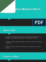 FMEA – presesntation
