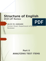 2015 Strucure of English (1)