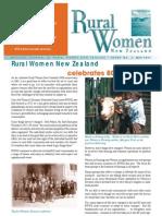 April 2005 Rural Women Magazine, New Zealand