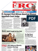 Prince George's County Afro-American Newspaper, July 31, 2010