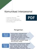 Komunikasi Interpesonal