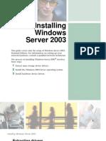 How to Install Windows 2003 Server