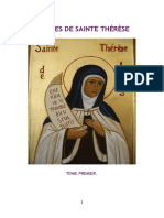 Sainte Thérèse Oeuvres 1