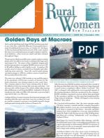 December 2006 Rural Women Magazine, New Zealand