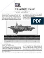 House rules Chaos light cruiser