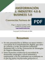 La Transformación Digital en La Industria y La Empresa