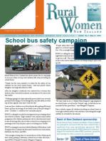 March 2008 Rural Women Magazine, New Zealand