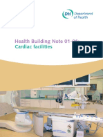 Health Building Note 01 – Cardiac Care
