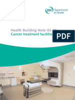Health Building Note 02-01- Cancer Treatment Facilities