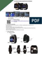 Castellano Smartwatch Ártemis n233,n234,n235,n236